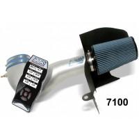 BBK Performance Öppet Luftfilter med SCT X4 tuner/Custom tunes Mustang GT 05-09 (Silver)