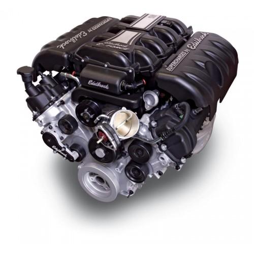 Ford Mustang Edelbrock Supercharger: Edelbrock E-Force Kompressorkitt Mustang GT 05-09