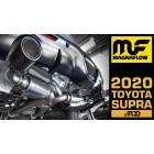 MagnaFlow Dual Exit xMOD Series Cat-Back Supra 3.0L 2020-  Exhaust w/Carbon Fiber Tips