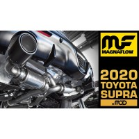 MagnaFlow Dual Exit xMOD Series Cat-Back Supra 3.0L 2020-  Exhaust w/Carbon Fiber Tips
