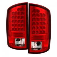 Spyder Röda LED bakljus Dodge Ram 1500 2002-06