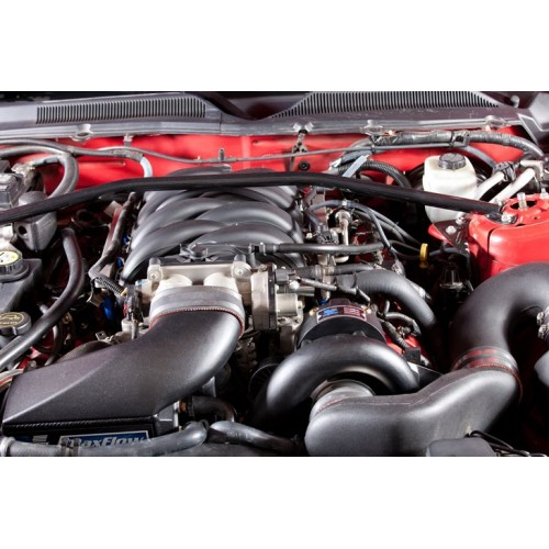 03 Mustang Gt Vortech Supercharger Install: Vortech HIGH OUTPUT Kompressorkit Mustang GT 05-06 (Svart