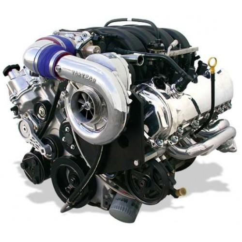03 Mustang Gt Vortech Supercharger Install: Vortech STD Kompressorkit Mustang GT 07-08 (Polerad