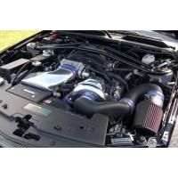 Vortech HIGH OUTPUT Kompressorkit Mustang GT 05-06 (Polerad)
