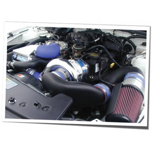 03 Mustang Gt Vortech Supercharger Install: Vortech HIGH OUTPUT Kompressorkit Mustang V6 05-06