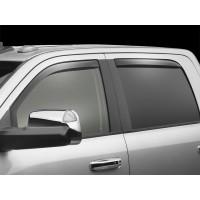 Weathertech vindavvisare Dodge Ram 1500 Crew cab 2009-